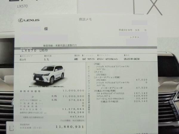 レクサス lx 新型 価格