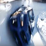スバルのWRX STIがボブスレーコースを全開で走行!ゴールできるの?